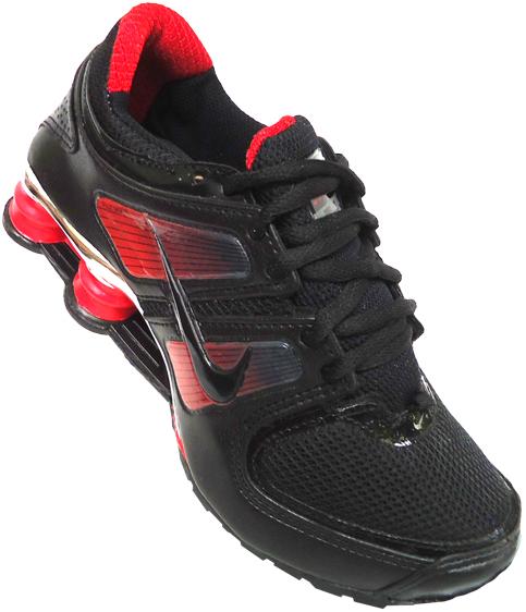 759564f444e ... wholesale tênis nike shox turbo 11 preto com vermelho mod10381 3849b  30c55